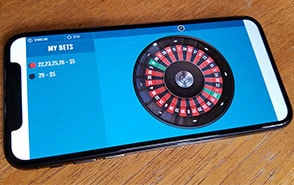 mobile american roulette